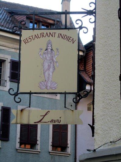 Lausanne Restaurant indien Laxmi