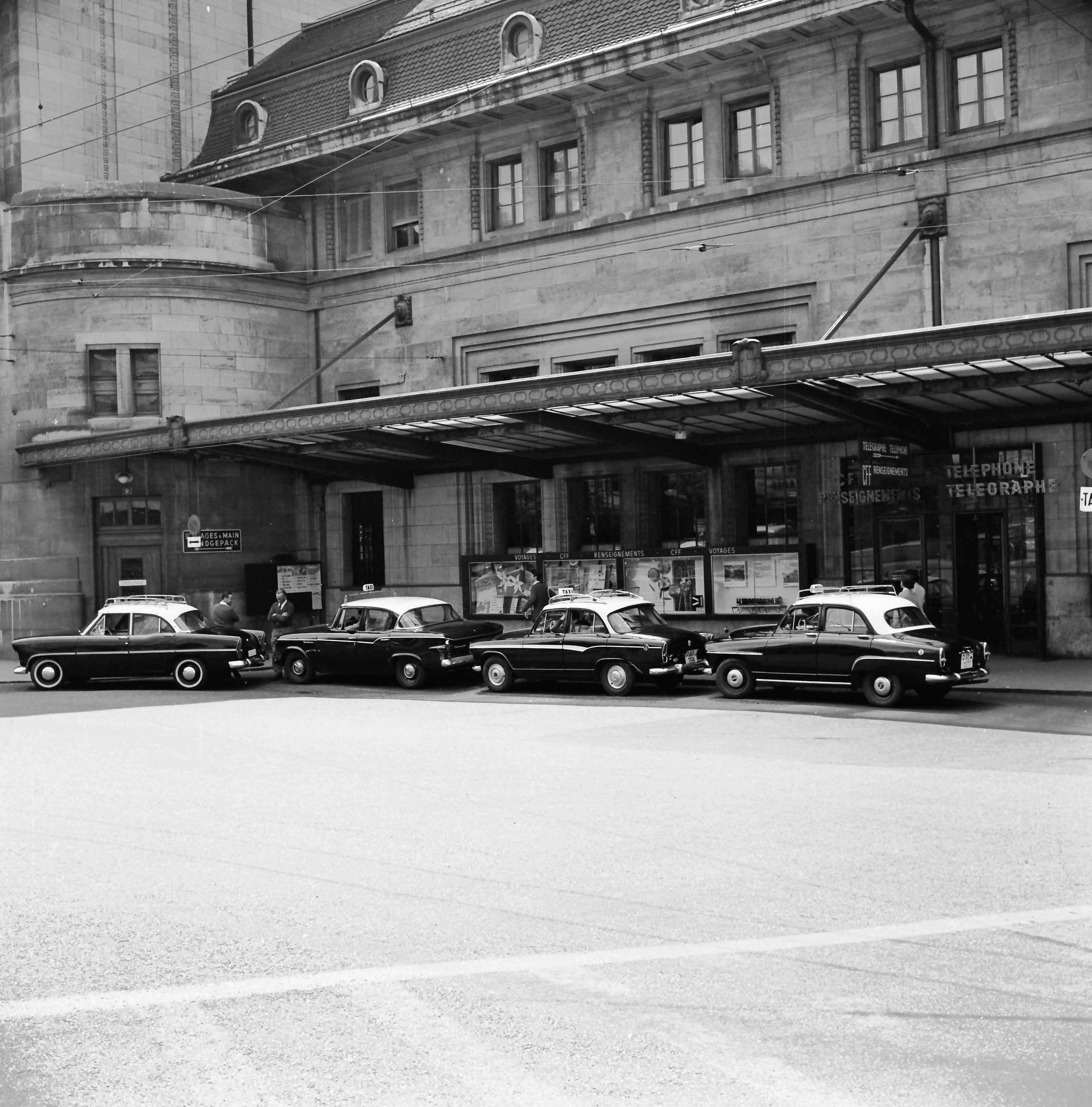 Station de taxis - Gare de Lausanne