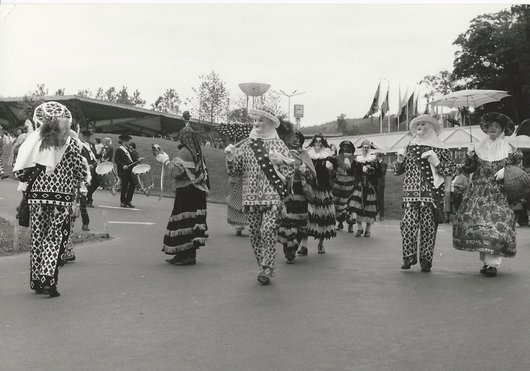 Costumes et masques (1) - Expo 64