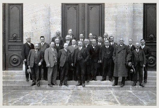 Cours pour Juges de Paix - Lausanne 1931