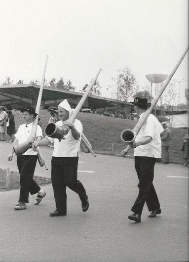 Sonneurs de cor des Alpes - Expo 64