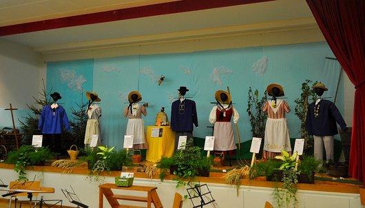 Les costumes traditionnels Neuchâtelois