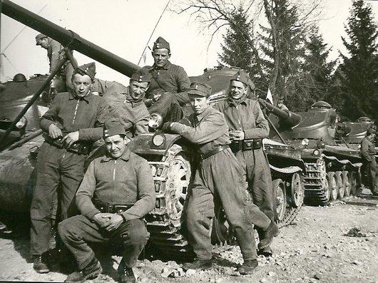 Soldats de char