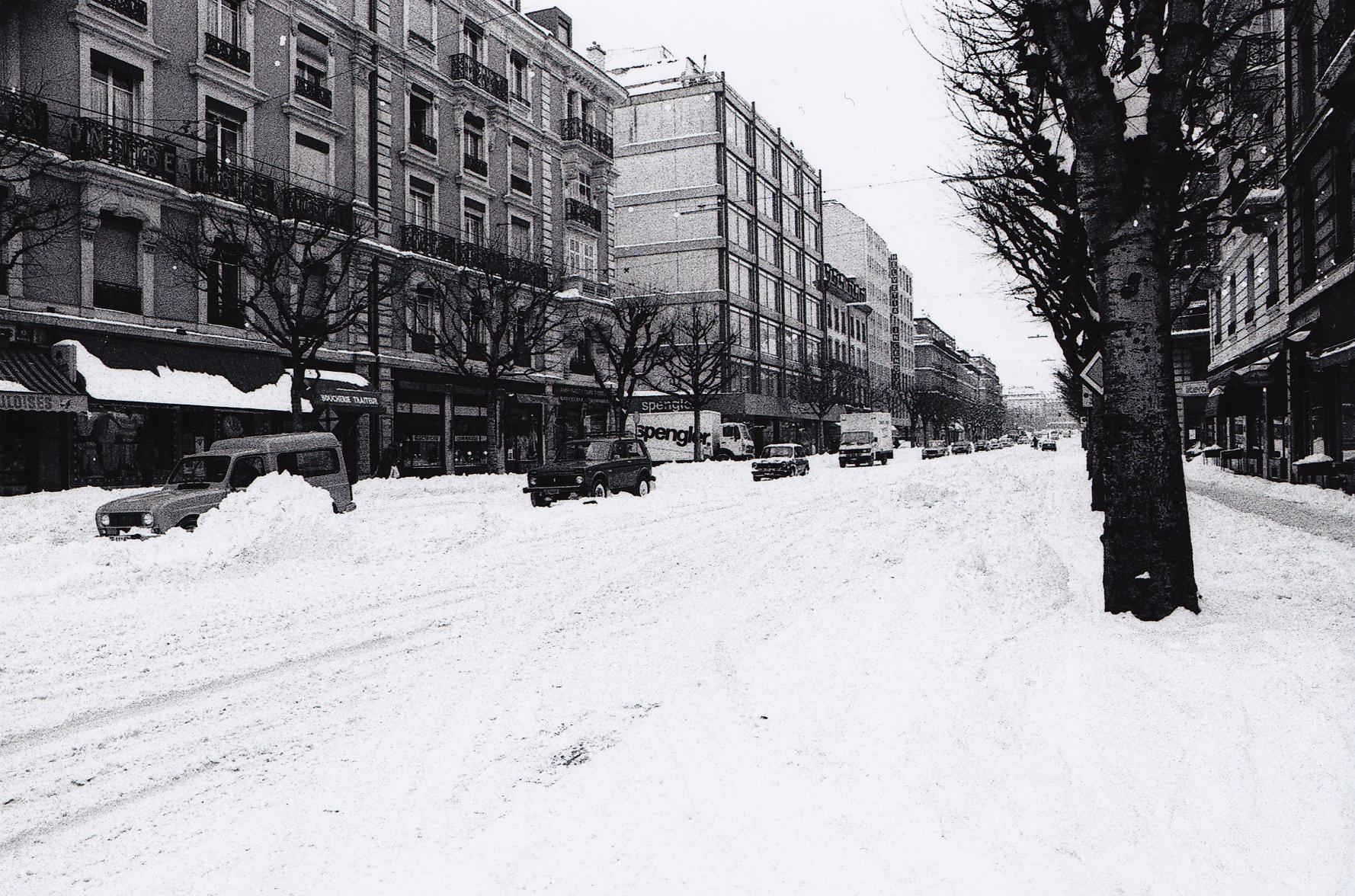 Genu00e8ve Boulevard Georges-Favon 1985 - Notre Histoire