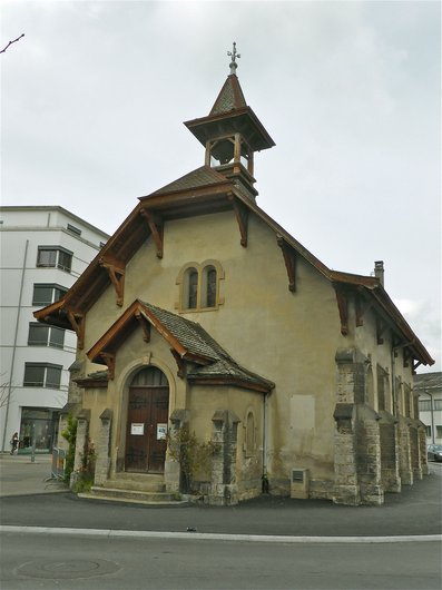 Renens, temple de la gare