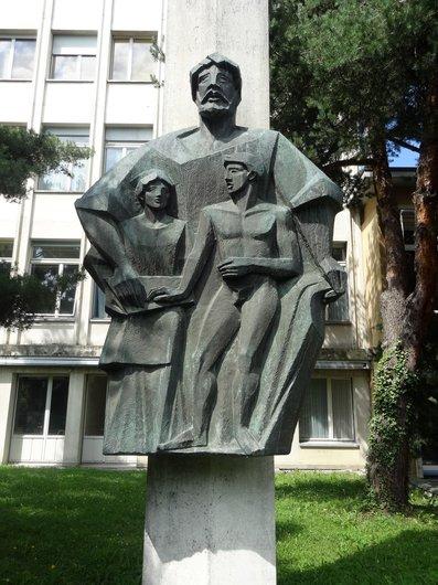 «Le serment d'Hippocrate»   Oeuvre de Pierre Blanc