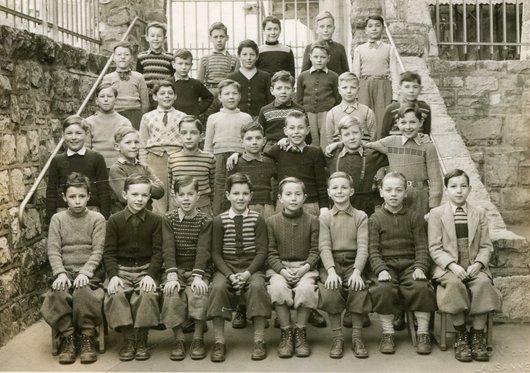 Prélaz 3ème année 1952-1953