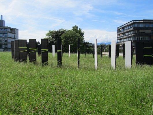 Lausanne UNIL oeuvre de Gilbert Moro