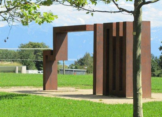 Lausanne UNIL Oeuvre de Varghaiyan Behrouz