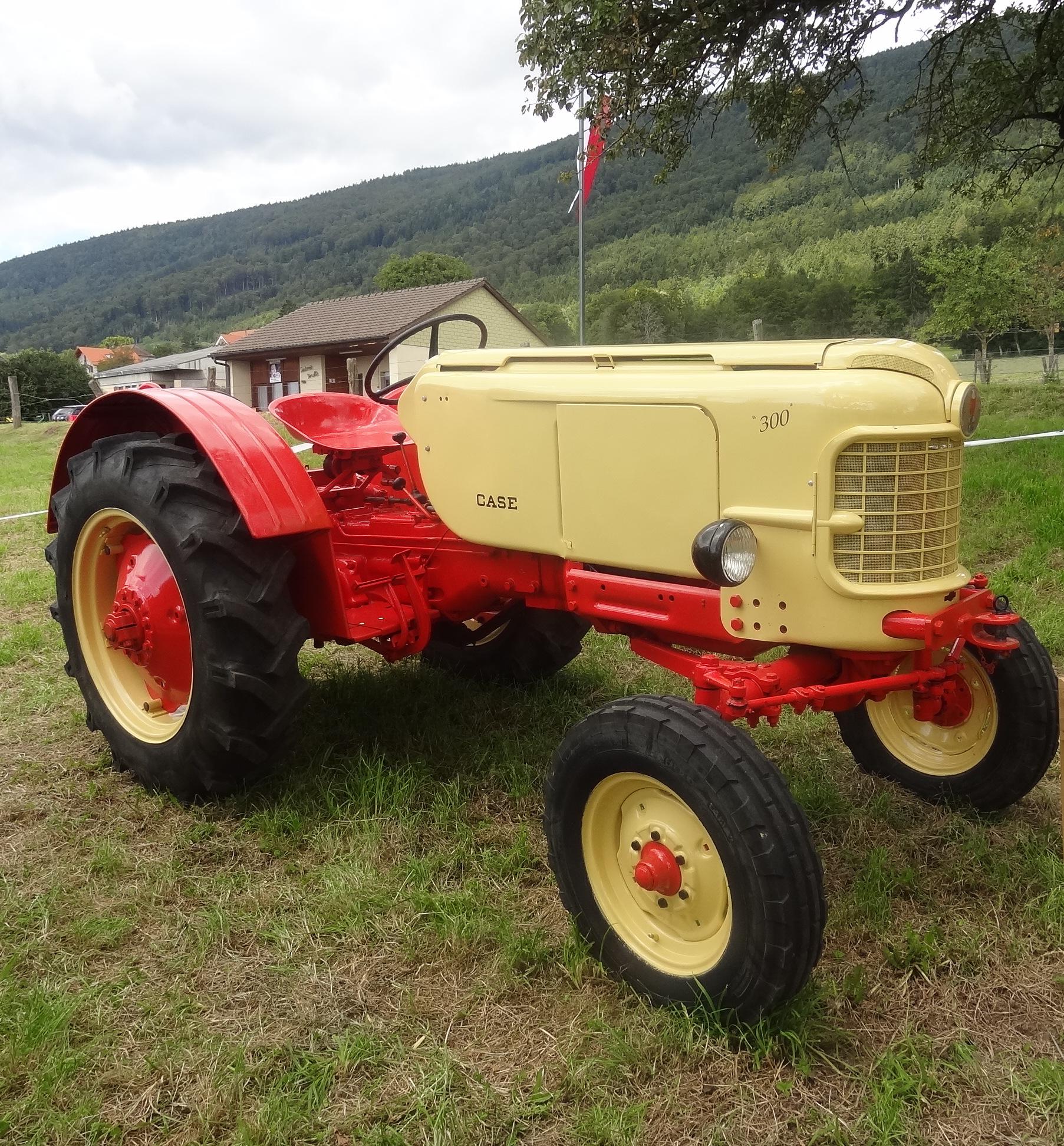 tracteur case 300