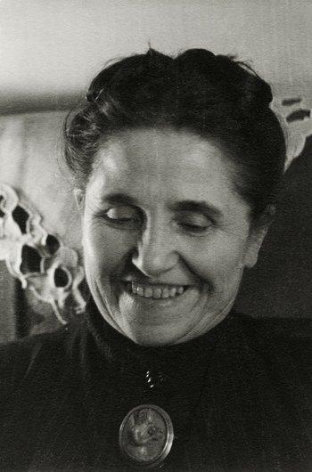 Portrait de Mme Pierre Bioley, née Céline Delacoste (1880-1975)