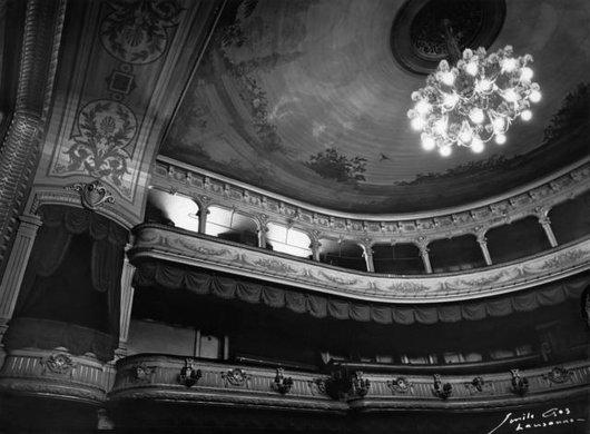 Théâtre Municipal de Lausanne; interieur, vue d'ensemble