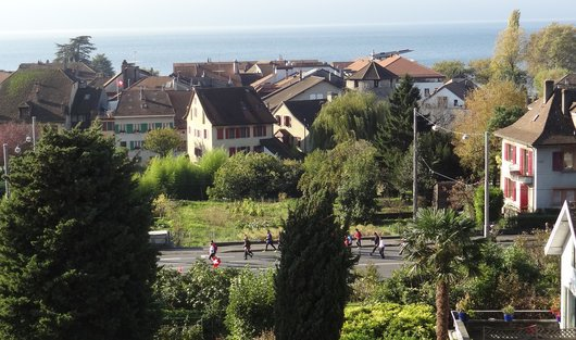 Lausanne Marathon - Sur la route du Lac