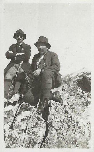 Anniviers, ses guides de montagne