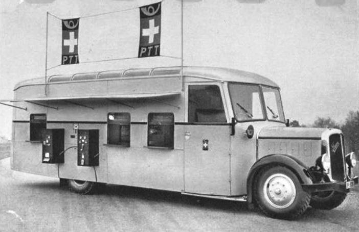 bureau de poste automobile saurer notre histoire. Black Bedroom Furniture Sets. Home Design Ideas