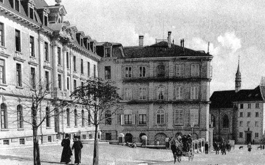 Fribourg, Le couvent et le pensionnat des Ursulines