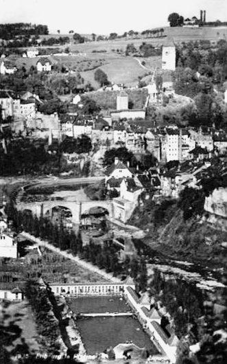 Fribourg, Bains de la Motta