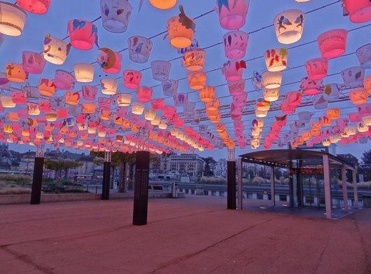 «Au passage des Anges» Festival Lausanne Lumières 2014