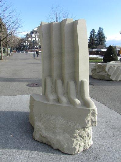 Lausanne Montbenon oeuvre de Peter Bernhard