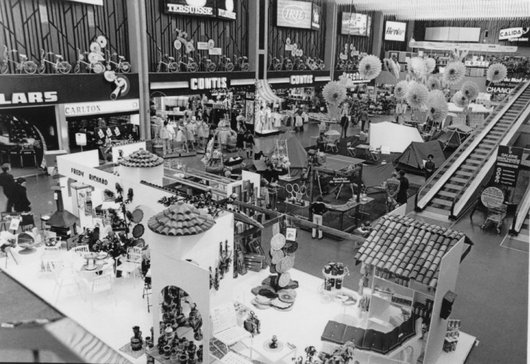 Hall de Balexert en 1973