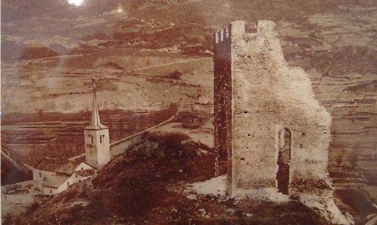 Ancienne église paroissiale de Granges et Tour commune
