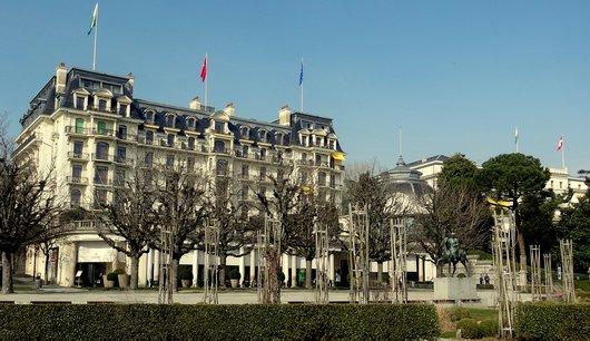Négociations à l'Hôtel Beau-Rivage Palace - Lausanne