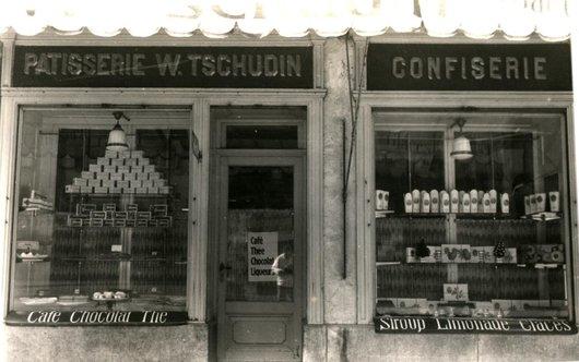 Pâtisserie W. Tchudin Lucerne 1930