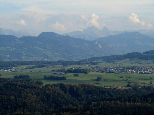 Vol en mongolfière au dessus du canton de Fribourg