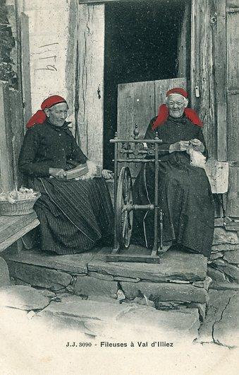 Fileuses du Val d'Illiez