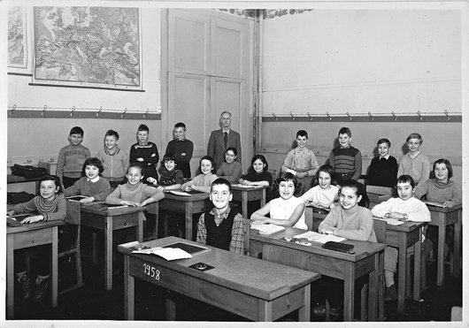 Neuchâtel - 4ème année - 1958