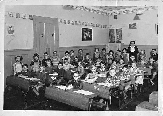 Boudry - 2ème année - 1955