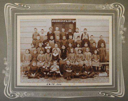Classe de Dombresson, 1916