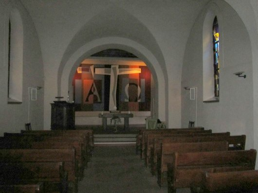 Grandvaux intérieur de l'église