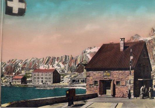 Col Saint Bernard..en couleur