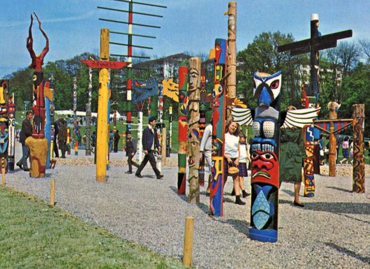 Expo 1964 les Totems