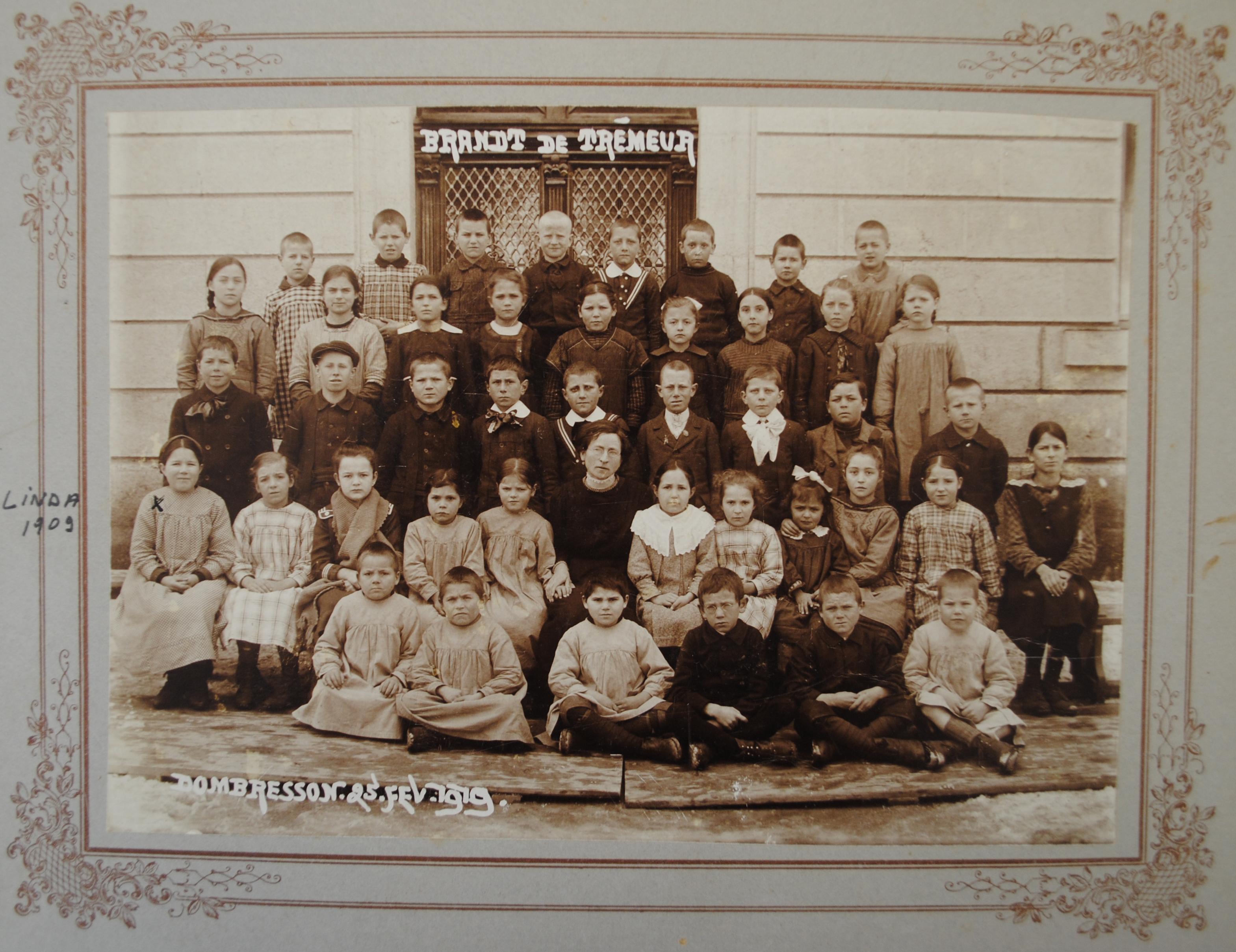 Classe de Dombresson, 1919