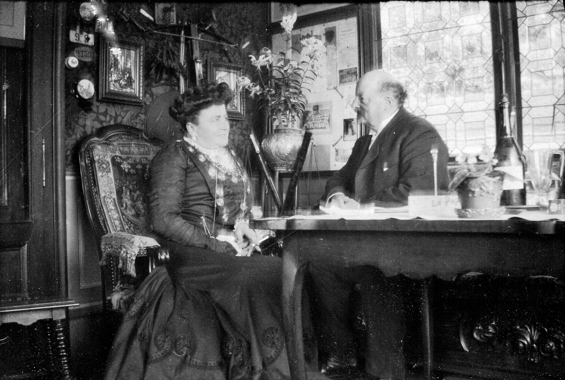 Un int rieur 1900 notre histoire for Interieur 1900