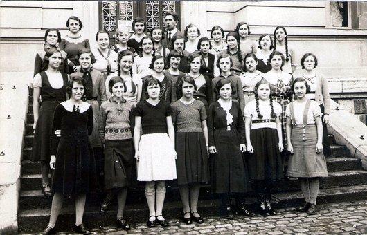 Collège de la Croix-d'Ouchy 1935-36