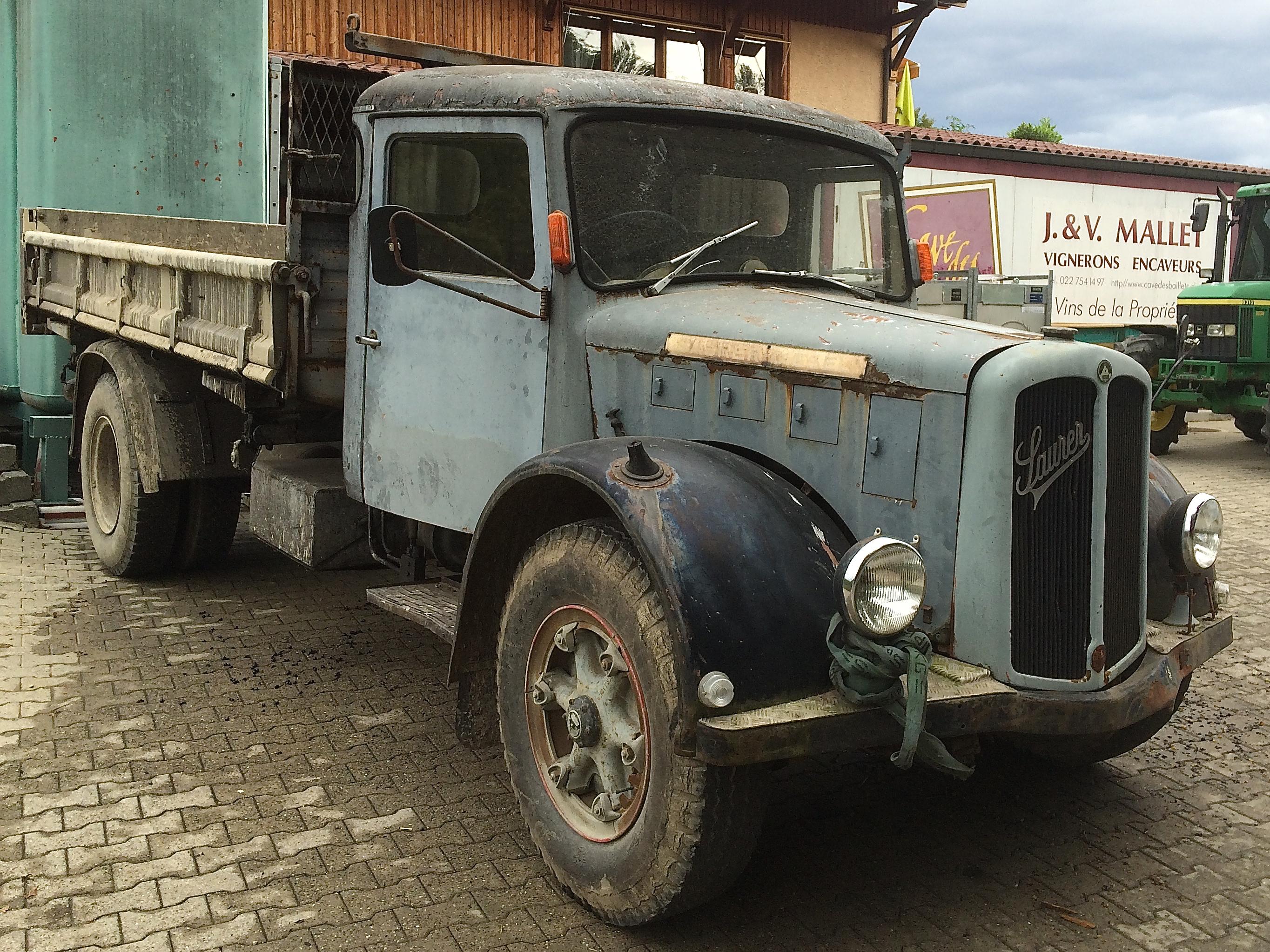 un bon vieux camion saurer