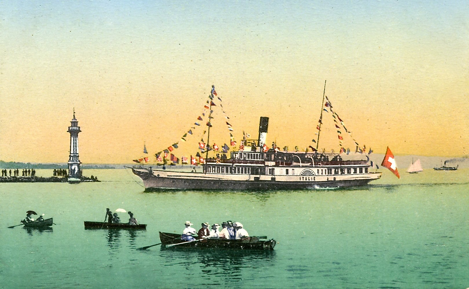 bateau italie
