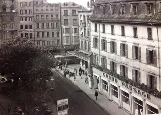 Le Grand-Passage et la Place du Molard, vers 1960