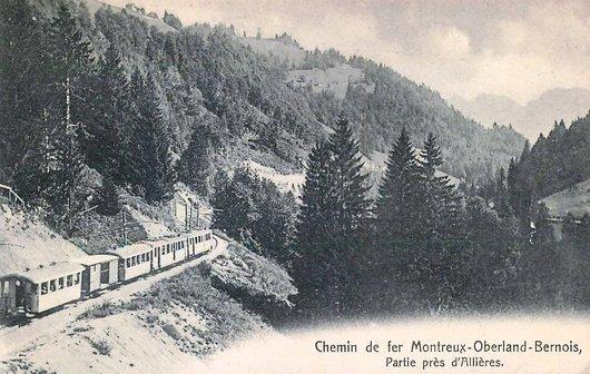 MOB Paysage près d'Allières 1905