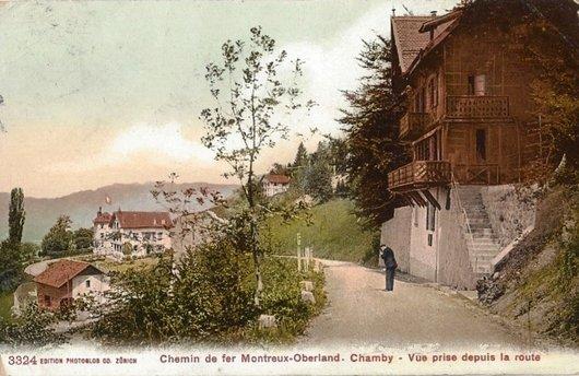 MOB les paysages de la ligne Chamby 1905