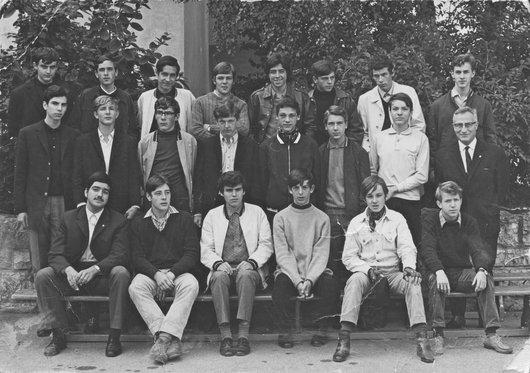 Collège de Béthusy 6S2 1968-69