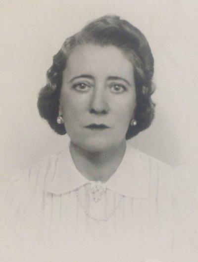 Beatrice von der Weid-Mills-Woodgate dite Nanini 1889-1981