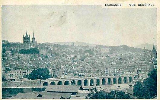 Lausanne vue générale