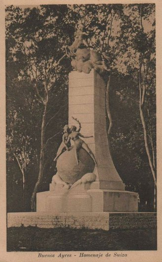 Monumento de la Colonia Suiza a la Republica Argentina