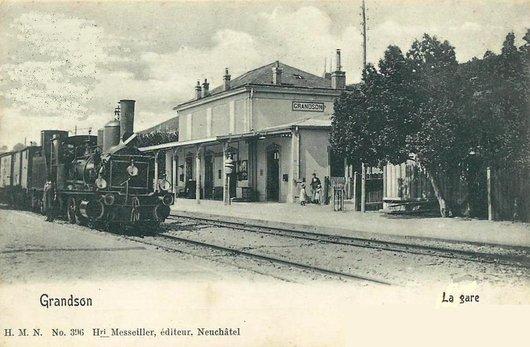 Grandson la gare 1901