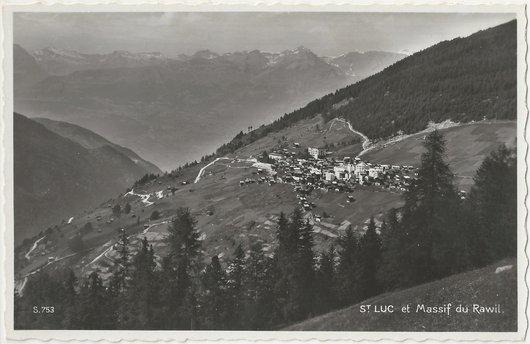 St-Luc & Massif du Rawil