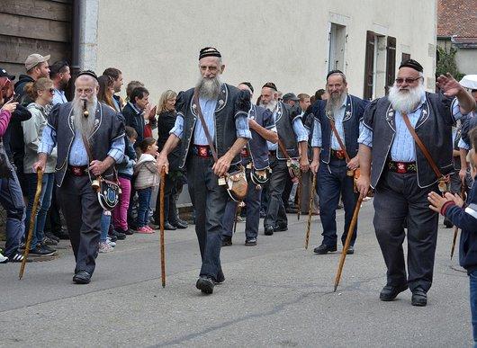 Armaillis à la 40ème désalpe de Lignières (Ne)
